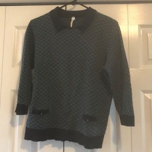 Margaret O'Leary: 3/4 length sweater